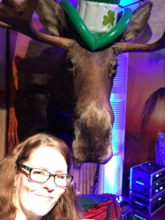 Me and the Moose. At The Moose.