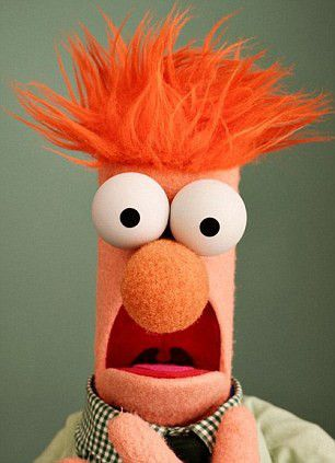 beaker from the muppets