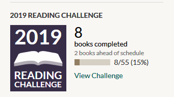 8 of 55 books read