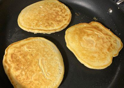 Sourdough discard pancakes.