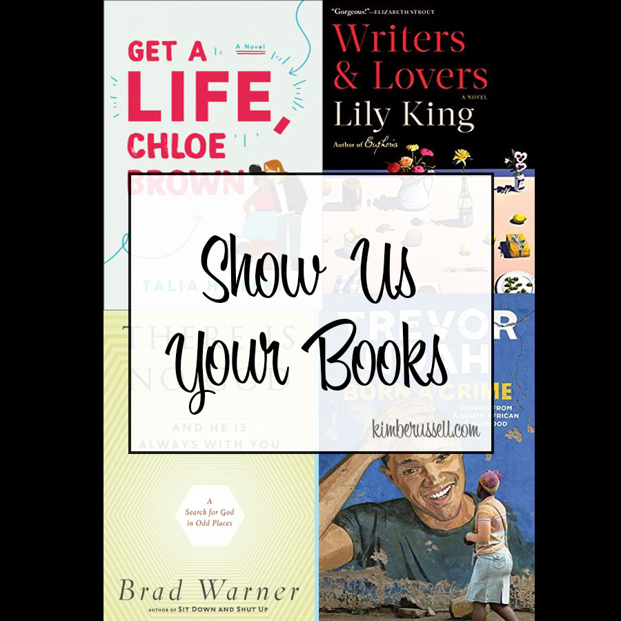 show us your books tile