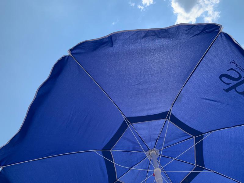 photo of my beach umbrella