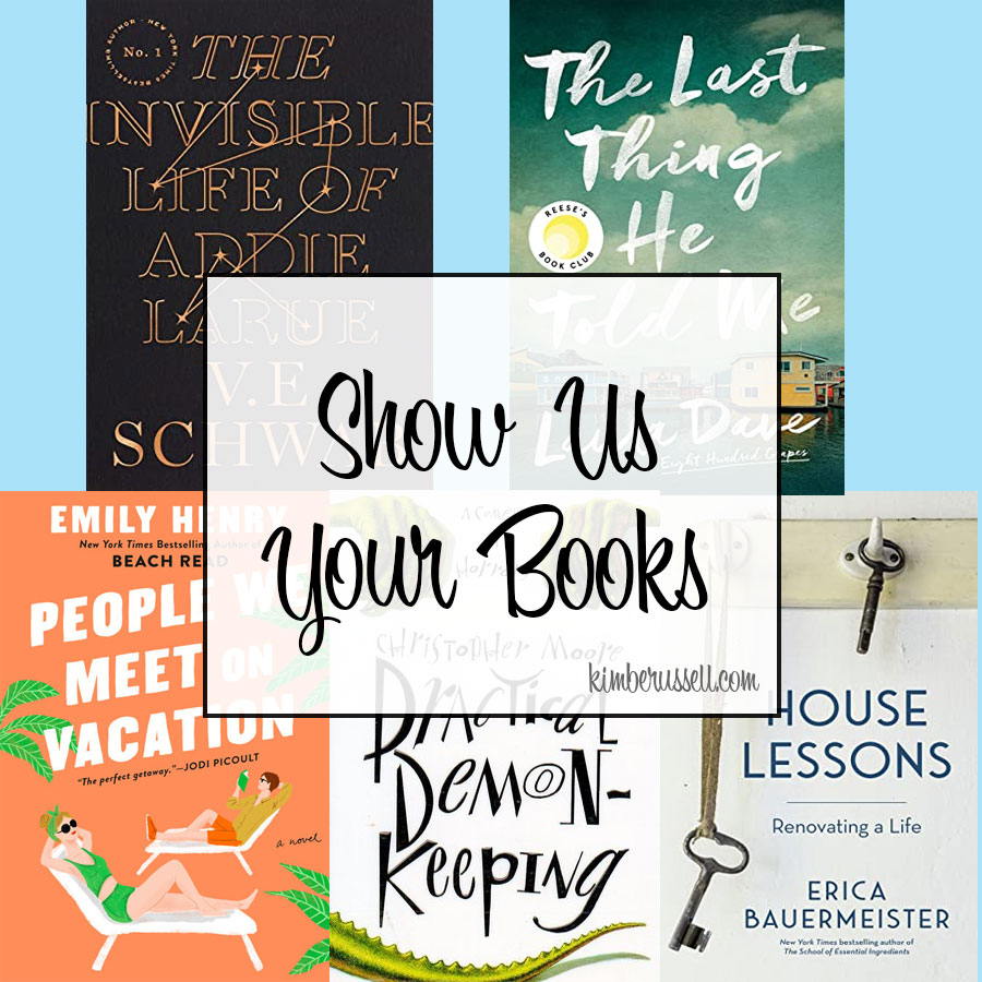 show us your book tile